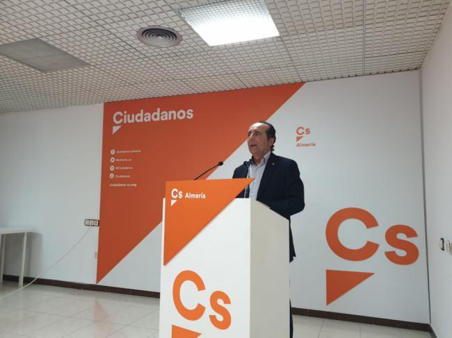 """Samper (Cs): """"Este presupuesto pone fin al maltrato histórico de la Junta a Almería"""""""