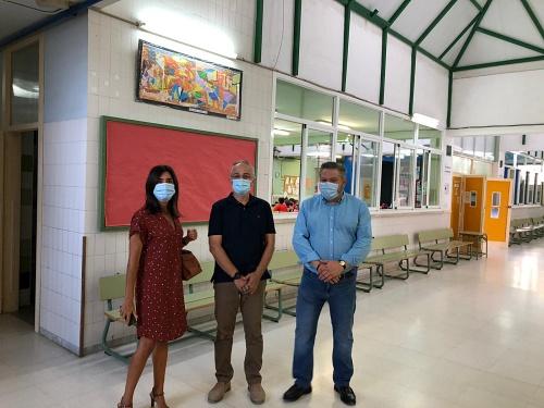 El Ayuntamiento visita los centros educativos del 'Plan Municipal Cole Seguro'