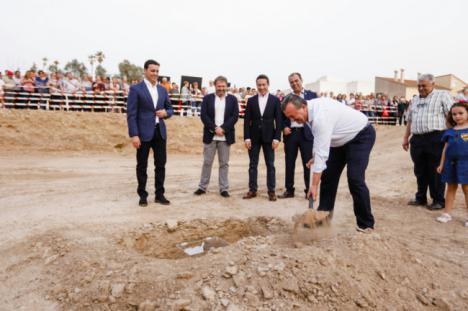 Diputación aprueba 1,2 millones de euros para terminar el Espacio Escénico de Pulpí