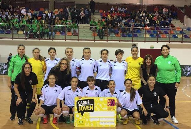 IAJ apoya el Campeonato de Fútbol y fútbol sala femenino