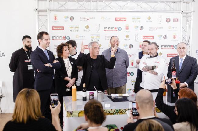"""Ferran Adrià respalda Almería 2019 con su presencia y destaca que """"la ciudad tiene una oportunidad brutal con los vegetales"""""""