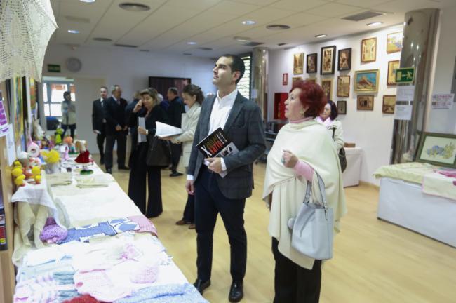 El alcalde felicita en su décimo aniversario al Centro de Mayores de Oliveros