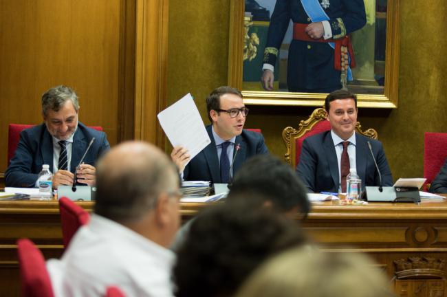 Diputación aprueba 700.000 euros para las obras de emergencia por lluvias en ocho carreteras
