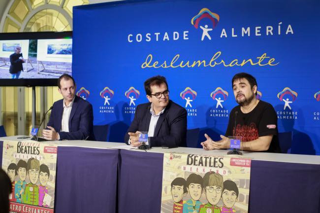 'Almería Beatles Weekend' despide el año con el Lennon más almeriense