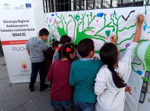 El Puche celebra el Día de Andalucía con una actividad lúdico-educativa