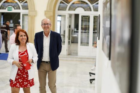 """UGT presenta la Exposición """"130 años de luchas y conquistas"""" en Diputación"""