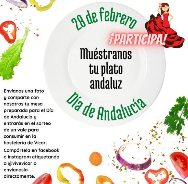 Vicar cambia su paella del Día de Andalucía por recetas en redes sociales