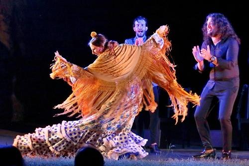Alejandro Rodríguez y Alejandra Gudí echan el cierre al 54º Festival de Flamenco y Danza de Almería