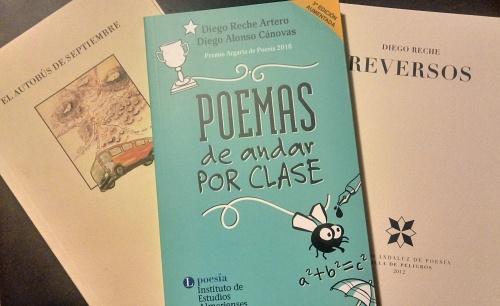 La Biblioteca de Vera acogerá un encuentro con el poeta Diego Reche Artero