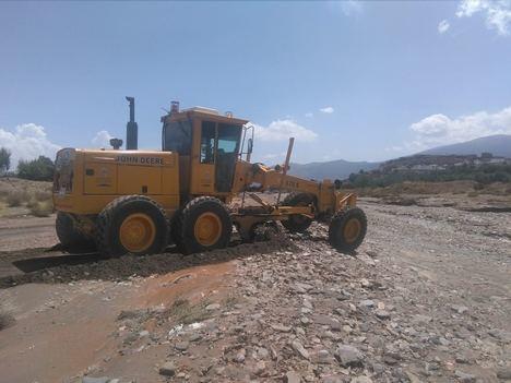 Diputación devuelve la normalidad a los caminos de la Comarca de Nacimiento tras las fuertes tormentas