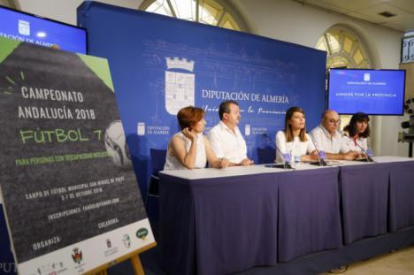 Más de 200 deportistas con discapacidad intelectual en el Campeonato de Fútbol 7 de Pulpí