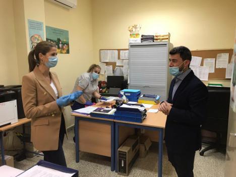 El Ayuntamiento de El Ejido refuerza la limpieza en los colegios por el #COVID19