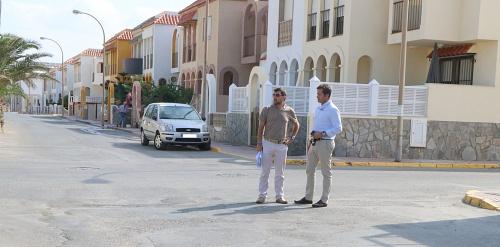 50 calles ejidenses en la III fase del Plan de Regeneración y Pavimentación
