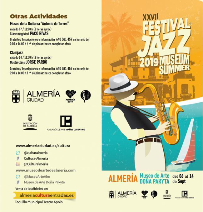 El XXVII Festival de Jazz comenzará este viernes con 'Jazz Kids'