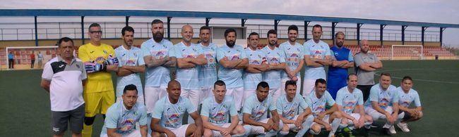 Los Veteranos del CD El Ejido finalistas del III Torneo Deportes Blanes en 2º división