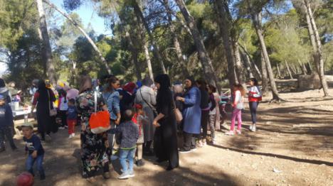 Jornada de convivencia de la asociación AT-TAWBA en Castala