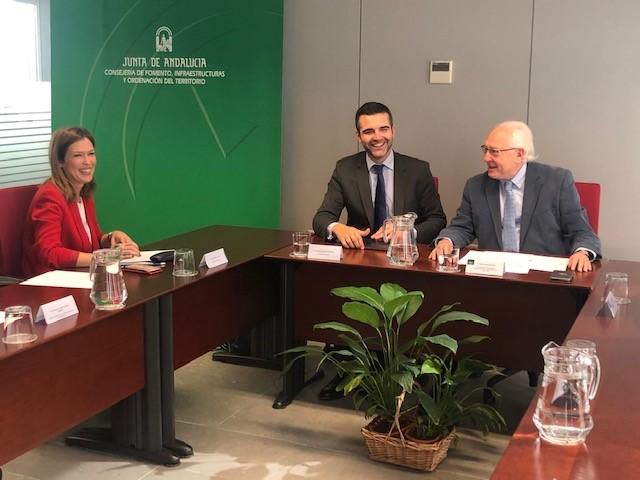 Compromiso de la Junta con el PGOU de Almería