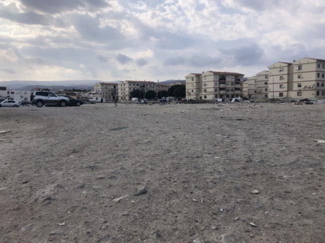 Limpieza municipal de solares de El Puche
