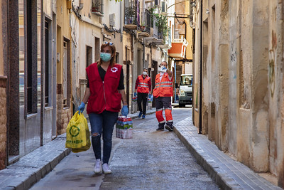 Cruz Roja distribuye 537.714 kilos de kilos de alimentos a 22.859 almerienses