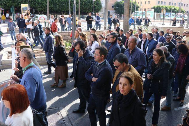 El PP de El Ejido, Adra y Berja acuden a la manifestación de agricultores