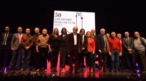 Emotivo Acto En Para Celebrar El 50 Aniversario La Puebla De Vícar