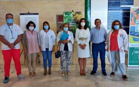 """El hospital La Inmaculada expone """"50 años: cambiando la historia del cáncer"""""""
