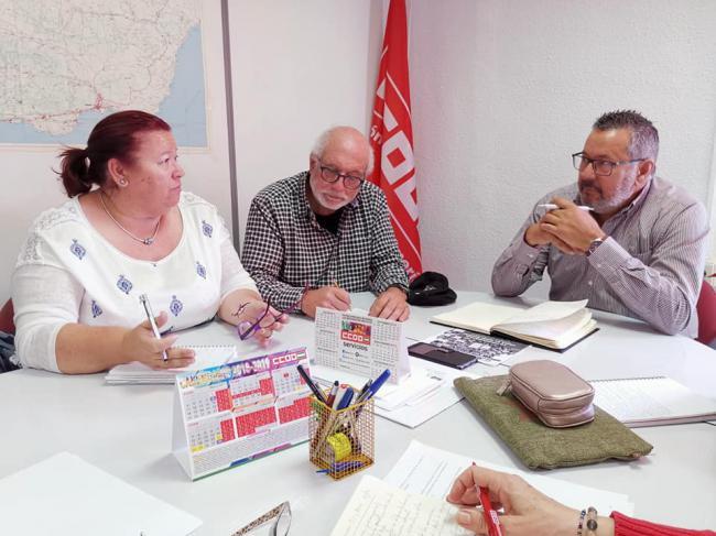 IU-Equo se reúne con CCOO para compartir propuestas electorales