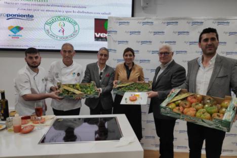 Almería 2019 y Agroponiente hacen una cata de tomates de sabor