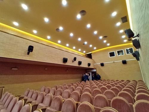 Recta final de la segunda fase de acondicionamiento del Auditorio Maestro Padilla