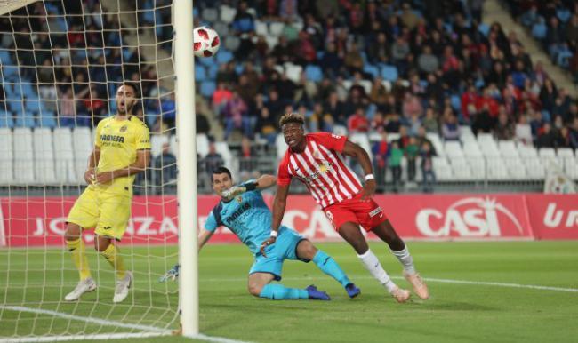 3-3: El Almería hace sufrir al Villarreal para dejarle en el empate