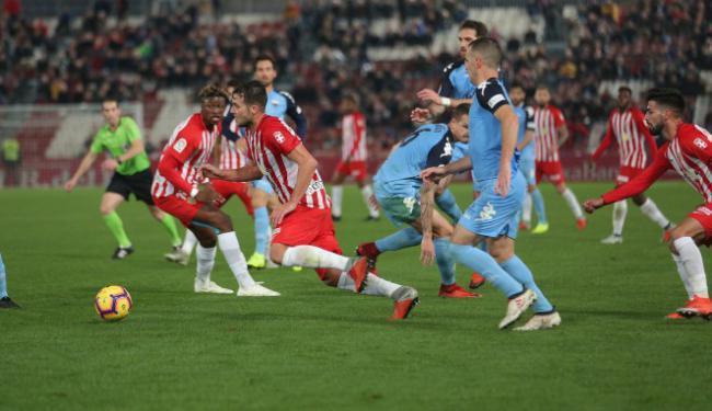 1-1: Intenso partido y meritorio empate de la UD Almería con el Extremadura