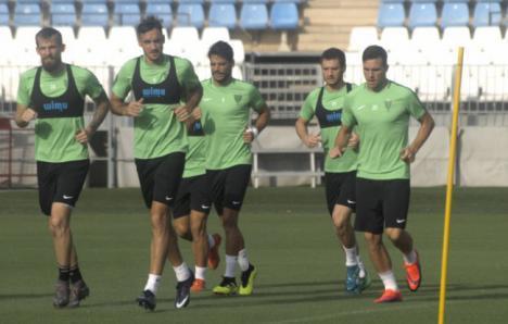 El Almería reanuda los entrenamientos para preparar el partido contra el Córdoba