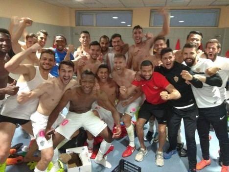 La UD Almería se salva del descenso
