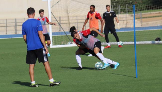 El Almería desarrolla un trabajo frenético e intenso