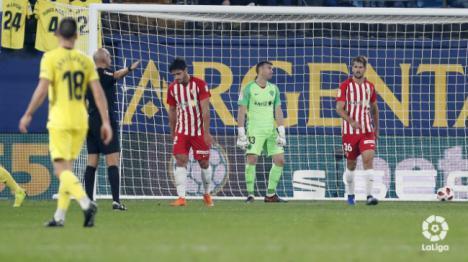 8-0: El Almería regresa machacado de Villarreal