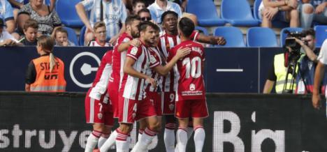 0-1: La UD Almería sienta precedente ante el Málaga