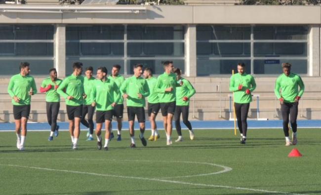 El Almería reanuda los entrenamientos para centrarse en la visita al Alcorcón