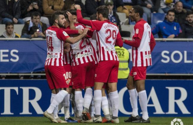 1-2: El Almería recuera el aliento