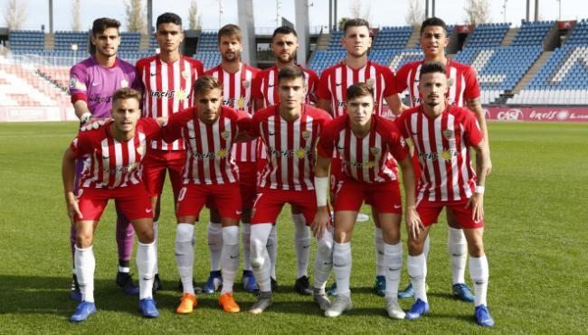 1-3: El Almería B sufrió una derrota con la que tiene que hacer autocrítica