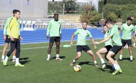 El Almería ultima su puesta a punto ante el partido frente al Rayo Majadahonda