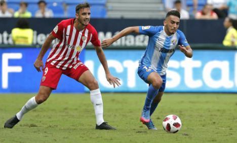 El Almería se enfrenta el jueves al CF Reus en la tercera eliminatoria de la Copa del Rey