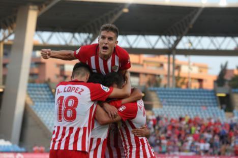 2-1: Descomunal gol de Corpas en Zaragoza