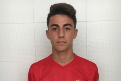 Mario Mañas, juvenil del Almería, es convocado por la selección española sub-17