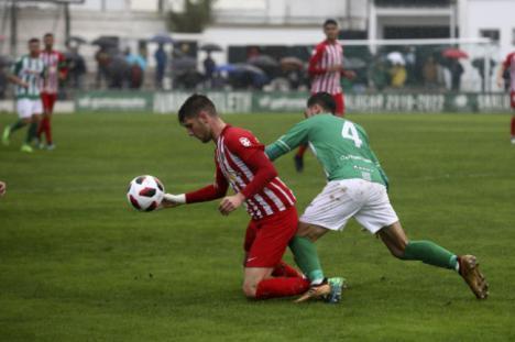 2-1: El filial rojiblanco no mereció perder ante el Sanluqueño