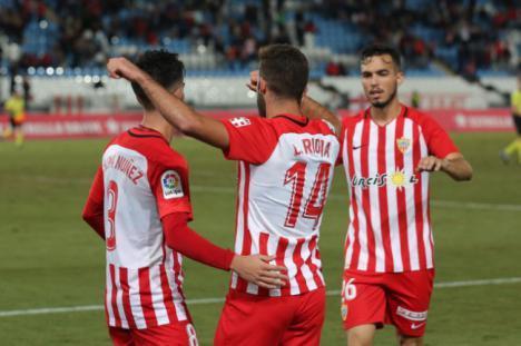3-1: El Almería sigue adelante en la Copa del Rey tras superar al Reus