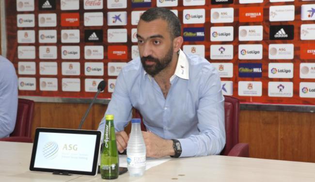 """Mohamed El Assy afirma que """"estamos trayendo muy buenos jugadores"""" a la UD Almería"""