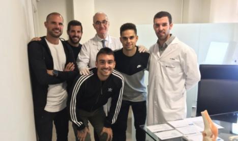 Nano, Samu de los Reyes y Fran Rodríguez también reciben el alta médica