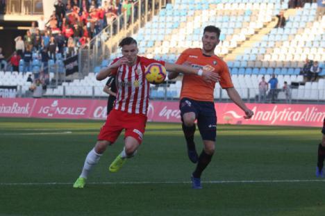 0-1: El Almería se queda con las ganas