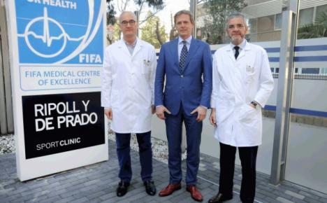 Nano será operado este viernes por los doctores Pedro Luis Ripoll y Niek Van Dijk