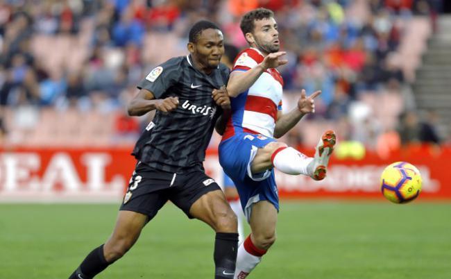 1-0: El Almería cae ante el Granada y pierde un punto